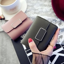 2019 Women Wallet Luxury Brand Famous Mini Womens Wallets And Purses Short Female Coin Purse Credit Card