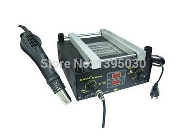 220V/110V Hot air gun + preheating station KADA 853A, SMD rework station KADA853A 1pcs/lot 1pcs lot sh b17 50w 220v to 110v 110v to 220v