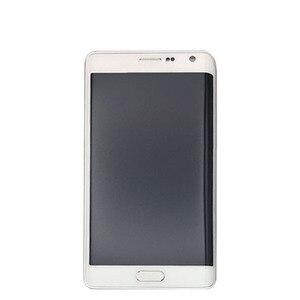 Image 3 - 100% probado para Samsung Galaxy Note 4 Edge N915 N9150 N915F, pantalla táctil LCD, digitalizador con montaje de Marco + herramientas gratuitas