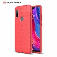 50 unids/lote Litchi estrías TPU suave cubierta posterior CASO DE Xiaomi Redmi S2 5 5A 5 6 plus 6A 6 pro 7 a 5 5A 6 K20-K20 Pro