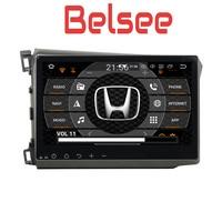 Belsee for 2012 2014 Honda Civic Car Stereo 10.1 IPS Screen Android 8 Radio Unit Octa Core GPS Navigation Autoradio Bluetooth