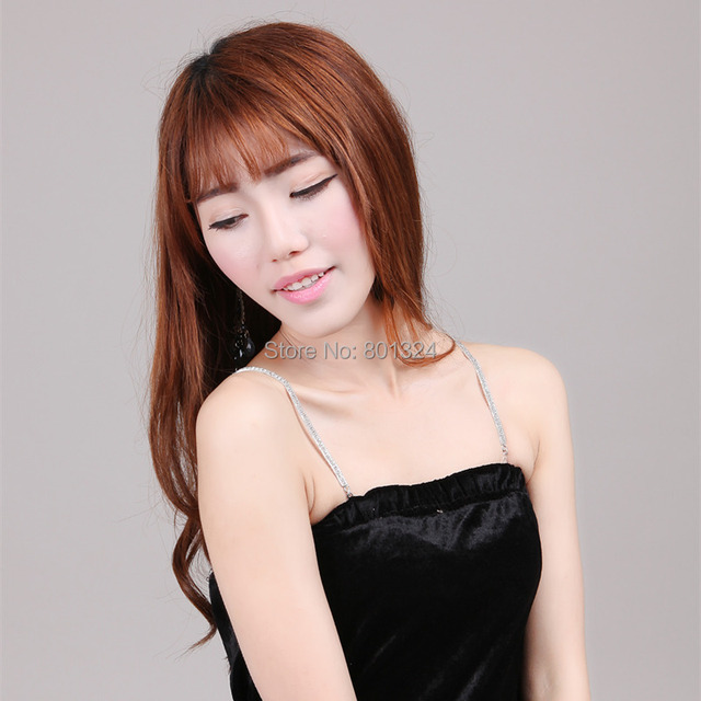 Accessories adjustable clear crystal belt gorgeous prom diamante rhinestone bra strap party evening dress underwear women
