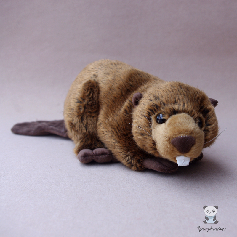 Stuffed Toy Wild Beaver Doll  Cute ChildrenS Toys Holiday Present SoftStuffed Toy Wild Beaver Doll  Cute ChildrenS Toys Holiday Present Soft