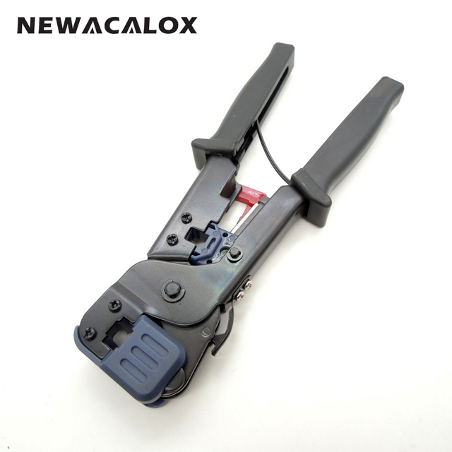 Stripping Tools Cutting DIY Modular Connector Repair Crimping Network Cable Crimper