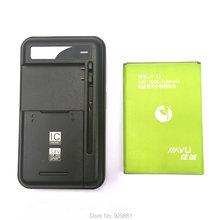 1PCS Universal battery Charger+1PCS Jiayu s3 3000mAh High quality battery For Jiayu s3 Mobile Phone Battery