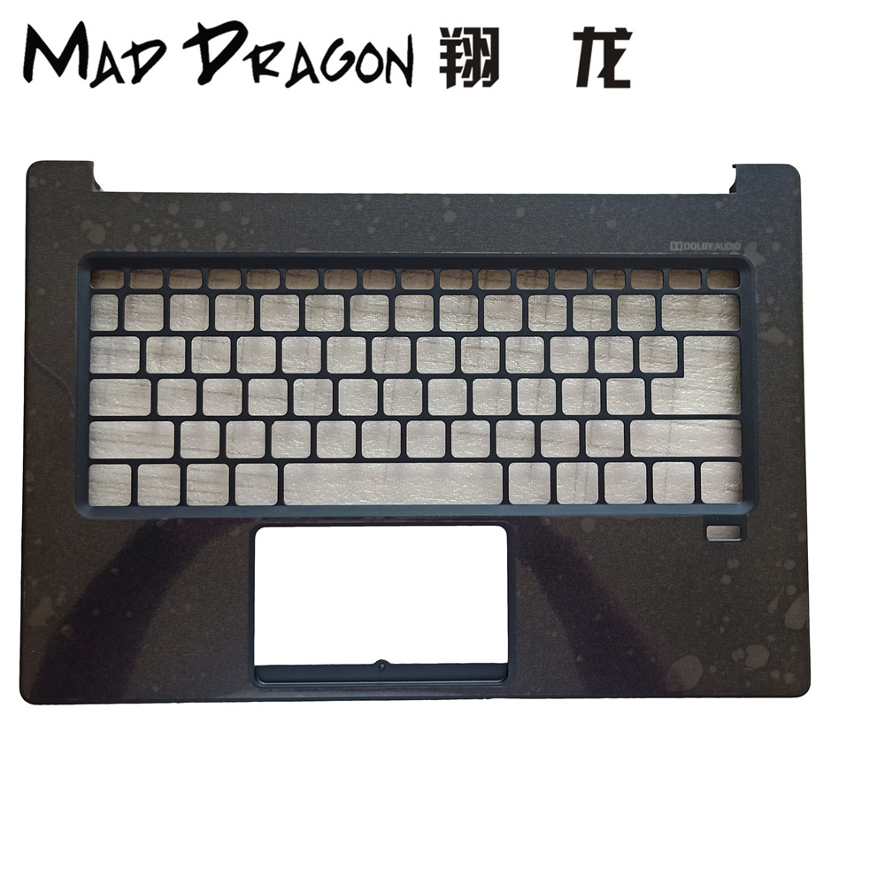 MAD DRAGON Brand new Laptop Palmrest Cover Uk KB C shell band fingerprint hole For Acer SF514 52T 511E -GDM 4600D70B0001 mad dragon brand new laptop monarch blue lcd front trim cover bezel for acer sf514 52t 511e lcd bezel cover gdm 4600d0y000