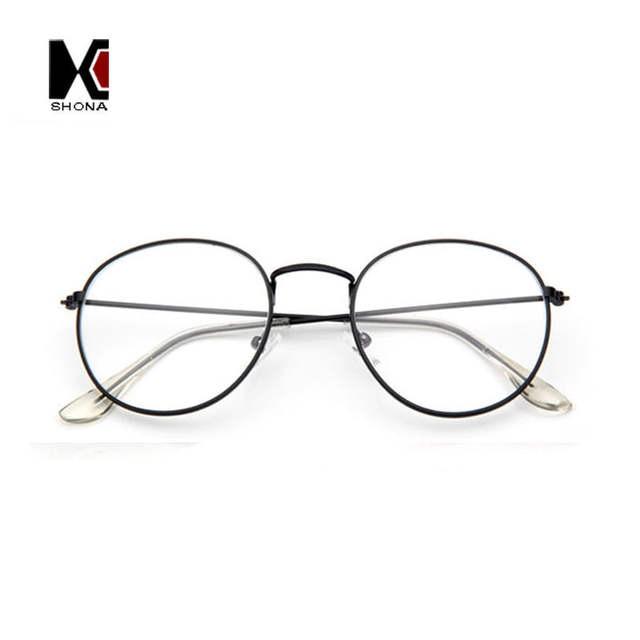 7d7ab66e81 SHAUNA Super Light Retro Clear Eyeglasses Brand Designer Round Frame For Women  Fashion Men Glasses Optical
