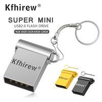 Super mini Usb Flash Drive de metal 128gb pendrive 64gb gb usb2.0 pen drive gb 8 16 32gb memória Flash USB Stick dom gratuito