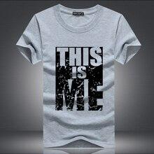 2017 new Brand Clothing Men T shirt Swag T Shirt Men Cotton Print Men T shirt