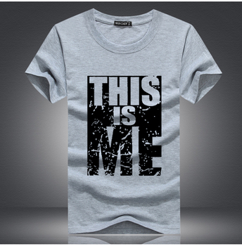 this is me print mens tshirt