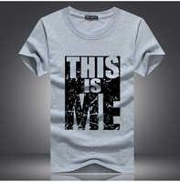 2017 nova marca de roupas masculinas t-camisa de algodão dos homens de impressão t camisa de fitness homme camisetas hip hop tshirt