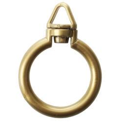 Шт. 14 шт. Занавес Стержня кольца с петелькой --- бронзовый цвет дропшиппинг