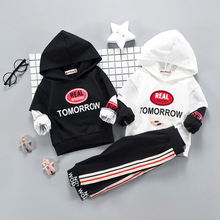цена на BibiCola Boys Clothing Sets Spring Autumn Children Hoodies Sport Suit Set Kids Boys New Fashion Tracksuit Outfits Clothing