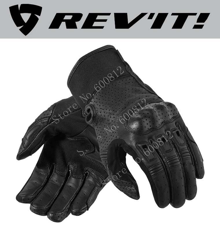 Netherlands REV'IT! Bomber motorcycle riding gloves spring summer leather revit bomber perforated union garagemotorbike glove bomber john richmond bomber