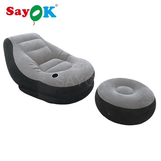 Hot Inflatable Sofa Lounge Chair Lazy Body Cinema Beach