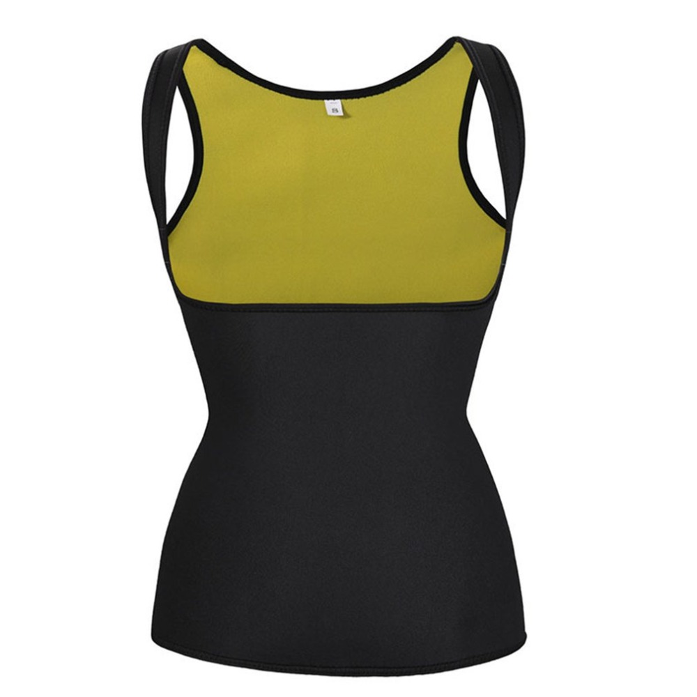 Sports Fitness Slimming Vest Comfortable Exercise Shaper Training Sweat Neoprene Vests Slimming Women Weight Loss Products