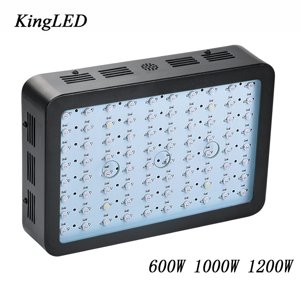 Kingled 600W 1000W 1200W LED Grow Light Full Spectrum for Greenhouse Hydroponic Indoor Plants Growing and Flowering High Yield