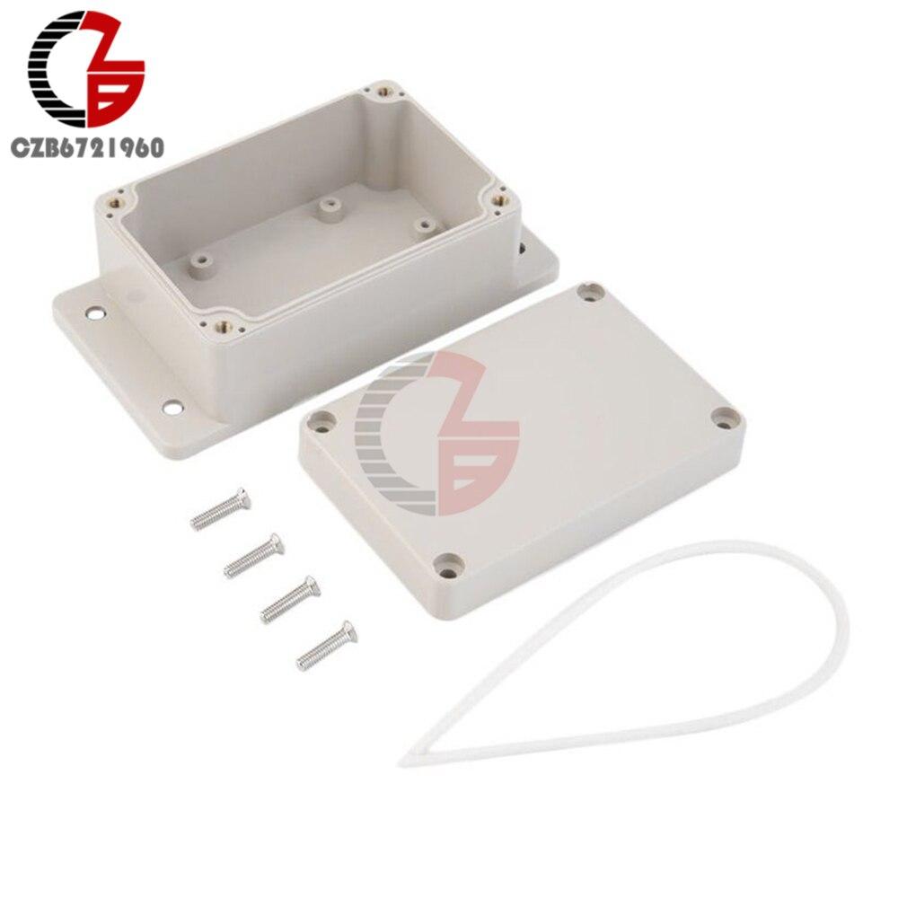 La poussière en plastique Durable dabs/imperméabilisent le connecteur électrique de la coquille 100x68x50mm de couverture de boîte de carte PCB de projet de clôture électronique