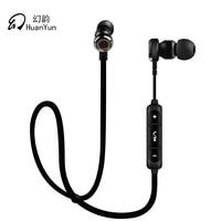 Huan Yun Headset Earphones Wireless Bluetooth Ear Hook Stereo Headphones With Mic Waterproof Sport Running For