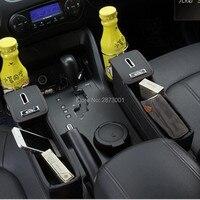Car Seat Crevice Pockets Leak Proof Storage Box for kia sportage 3 lada vesta nissan qashqai j11 kia sorento mercedes . benz