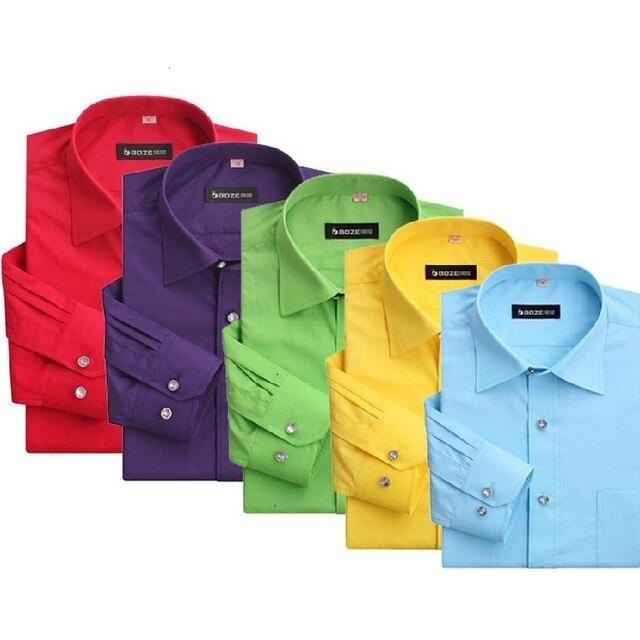 2017 New High Quality Diamond Buckle Men's Casual Shirts  Fashion Slimming Men Long Sleeved Casual Shirt Camisa Masculina