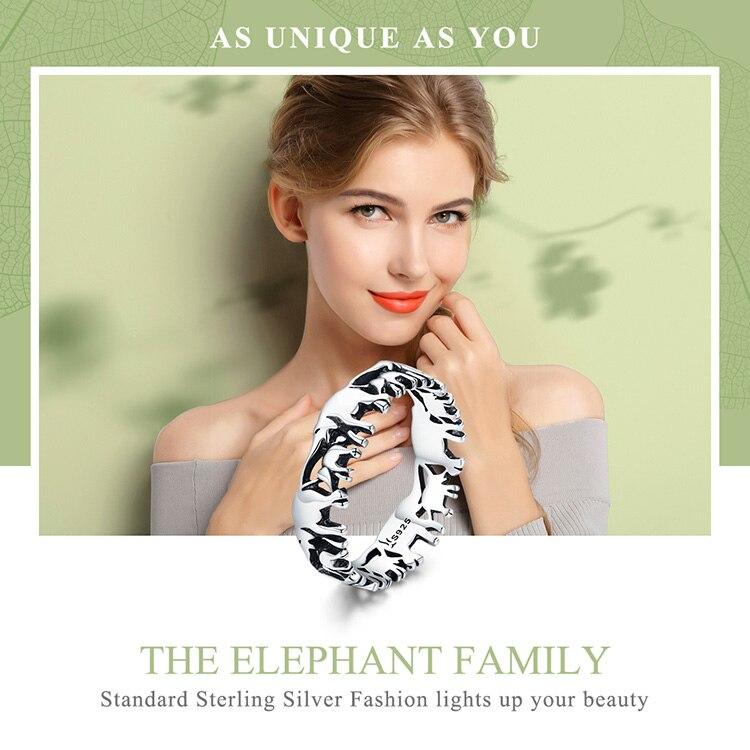 HTB1gGc3rFGWBuNjy0Fbq6z4sXXaE BISAER Original 2019 925 Sterling Silver Vintage Ethnic elephant Animal Stackable Women Finger Rings Vintage Silver Bague GXR344