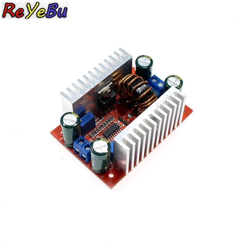 Constant Current Power Supply LED Driver DC 400W 15A Step-up Boost Converter 8.5-50V to 10-60V Voltage Charger Step Up ModuleConstant Current Power Supply LED Driver DC 400W 15A Step-up Boost Converter 8.5-50V to 10-60V Voltage Charger Step Up Module