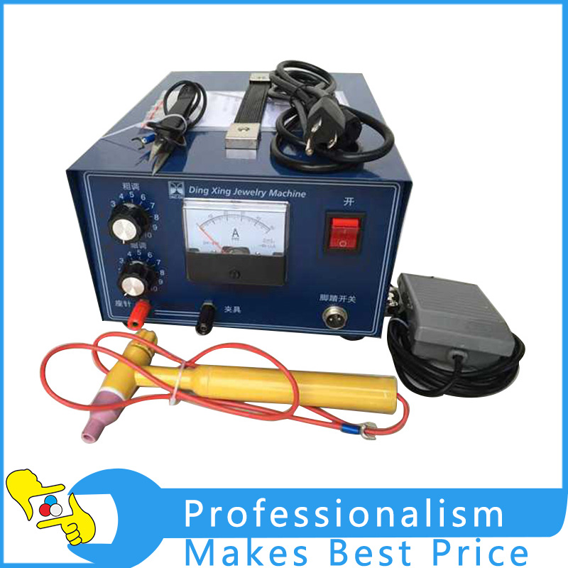 DX-50A High-Power Laser Spot Welding Hand-held Pulse Spot Welder Touch the Machine Gold Tools Jewelry Spot Welding Tool цена и фото