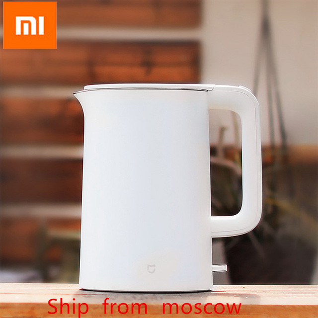 Original Xiaomi Electric kettle fast boiling stainless teapot Water Kettle Mi home 1.5L Insulation White