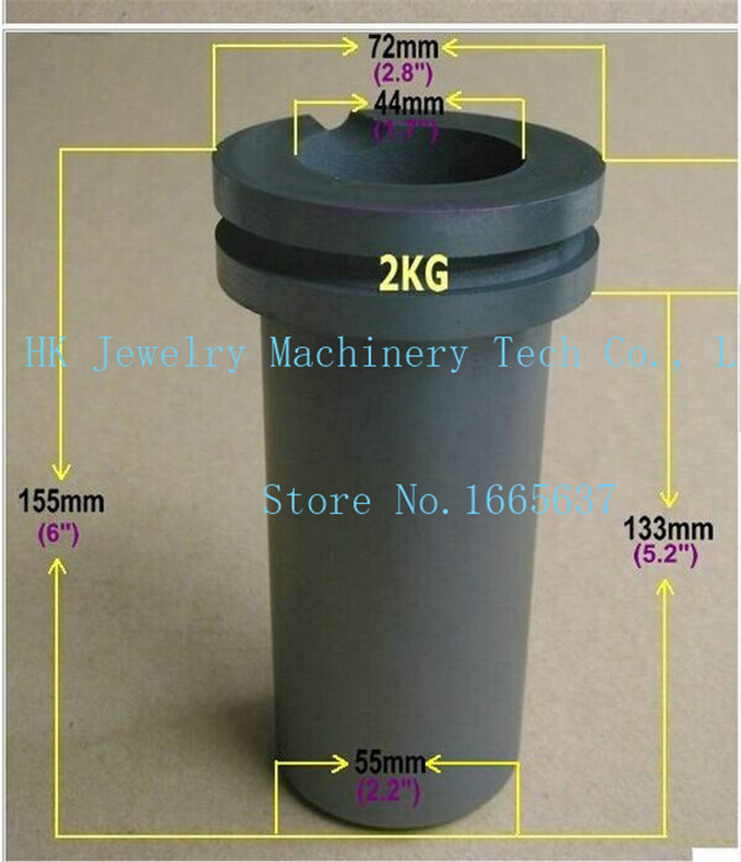 graphite crucible for melting gold silver metal Gold Silver Scrap Casting Mould 2kg capacity silica melting melt cauldron crucible dishes pot casting for gold silver platinum refine inside diameter 45mm height 22mm