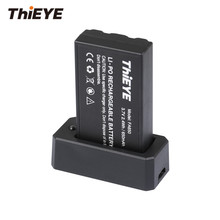 THiEYE Drone аксессуары один 650 мАч перезаряжаемый Lipo аккумулятор и зарядное устройство для ThiEYE Mini Drone Dr. X & Dr. X Plus