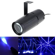 Cool LED Blue Spotlight Super Bright Lamp Mirror Balls Stage Lighting for KTV DJ Disco