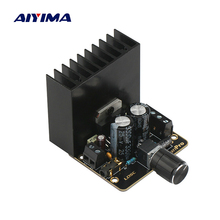 AIYIMA TDA7377 Audio Amplifier Board 35W*2 Dual Channel Stereo Power Amplifier Car AMP Home Sound Theatre