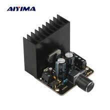Aiyima TDA7377 オーディオアンプボード 35 ワット * 2 デュアルチャンネルステレオパワーアンプカーアンプホームサウンドシアター