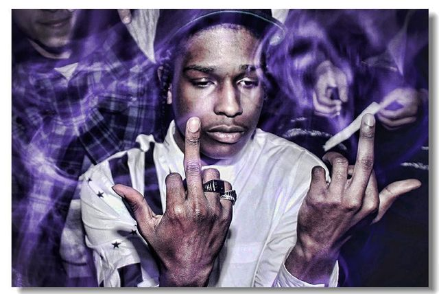 Asap rocky silk stylish hd wallpaper pop retro kids poster - Asap wallpaper ...