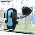 Universal car-styling taza sostenedor de la succión del coche del teléfono móvil de plástico para iphone 5s 6 plus samsung teléfonos móviles soporte de montaje dc30