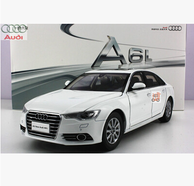 ФОТО 2012 A6L A6 1:18 Original alloy car models business car made in China Volkswagen Luxury cars Phantom Black