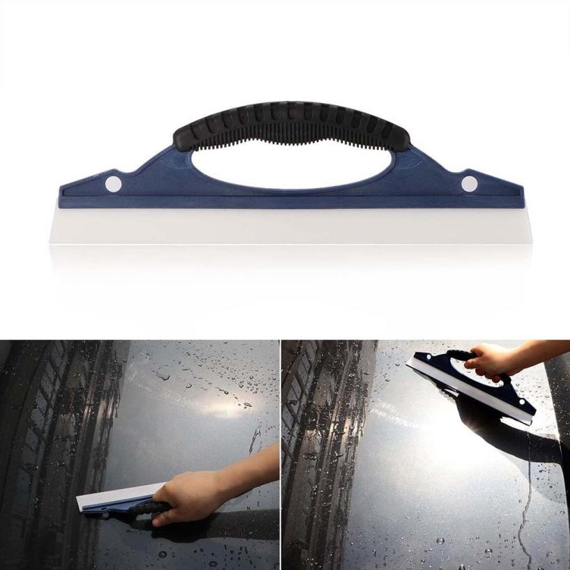 Car squeegee for Mirrors and Lights Home Window Car Glass Silicone Wiper