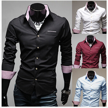 505f03ac803315 Free shipping MOQ50PCS cheap price Fashion hot sale designer men shirts  latest designs fashion shirts