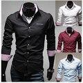 Free shipping MOQ50PCS cheap price Fashion hot sale designer men shirts latest designs fashion shirts