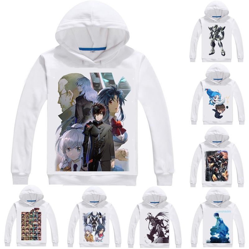 Full Metal Panic Hoodies Men Long Sleeve Anime Hoodie Fmp Furumetaru Panikku Kaname Chidori Sousuke Sagara Cosplay Sweatshirts Large Assortment Back To Search Resultsmen's Clothing