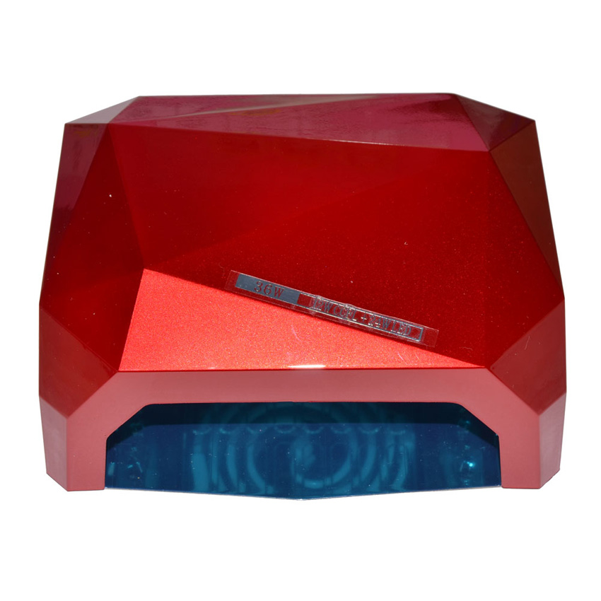 36W UV Lamp LED Nail Dryer Diamond Shaped LED UV Lamp Nail Lamp LED CCFL Curing