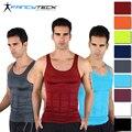 9 Color S-XL, Comodidad en verano, los hombres Del Cuerpo de La Talladora Caliente, adelgaza el Chaleco, corsé, Abdomen Fajas Shirt, Entrenador de la cintura Para Los Hombres