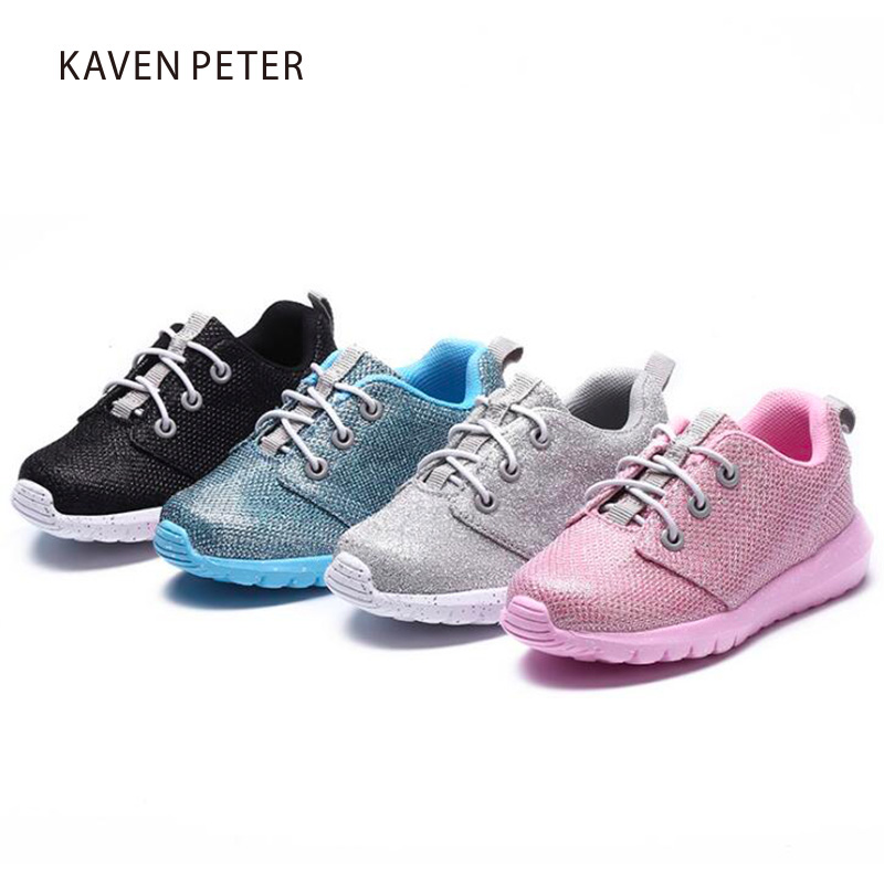 2017 Autumn boy and girl running shoes sports sneaker Children breathable mesh shoes kid casual Sneakers girl kid soft gym shoes