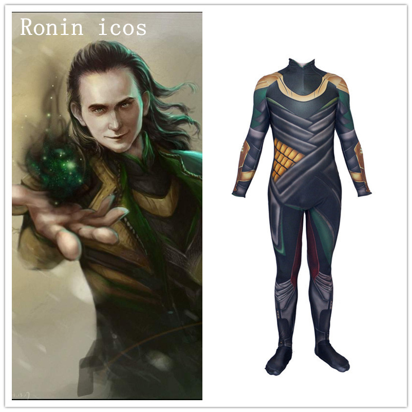 Brand New Marvel Loki Child Costume