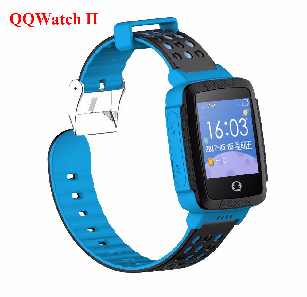 Tencent QQ Smart Watch Kids Children Smartwatch WiFi LBS GPS Watch Anti Lost SIM Alarm for Android IOS 2G GSM C002  Touch Screen 1 2 inch android ios children smart watch phone s866 bluetooth sim gsm wifi lbs sos gps real time positioning tracker for kids
