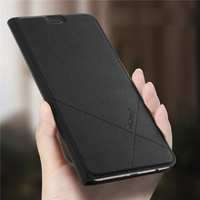 For XiaoMi Mi 6 Case Mi6 ALIVO Leather Flip Cover Phone for Wallet Full Protective