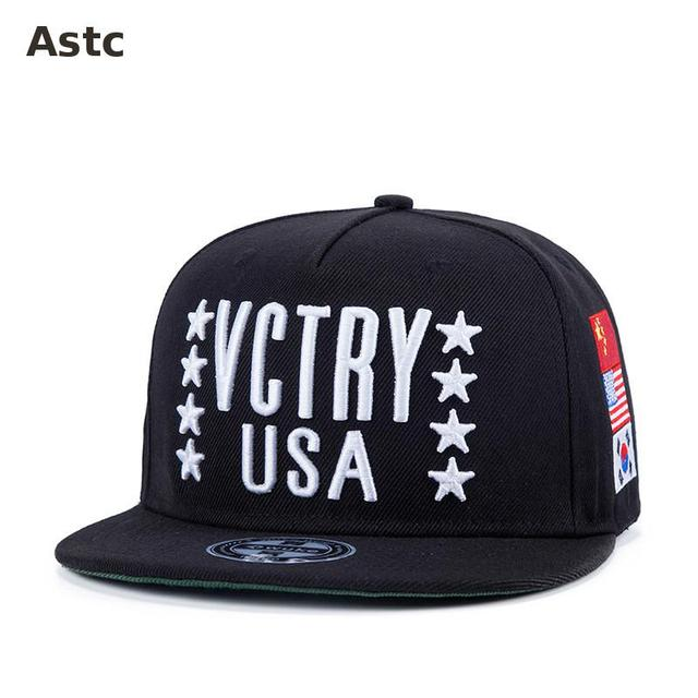 Vctry Usa Embroid Brands Leopard Print Pattern Fashion Leisure Classic Men Women Hats Baseball Cap Hip Hop Snapback Streetwear