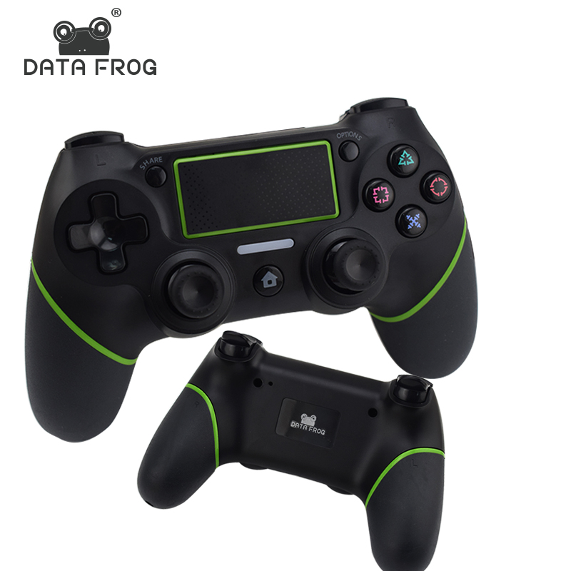 Bluetooth Wireless Gamepad For PS4 Controller For Playstation Dualshock 4 Joystick Gamepads Vibration 6 Axies For PS 4 Console