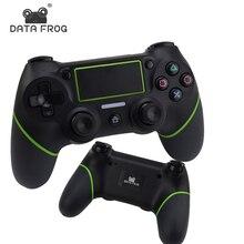 Bluetooth для беспроводной геймпад для PS4 контроллер для PlayStation DualShock 4 джойстик геймпады вибрации 6 ответствующее для ps 4 консоли